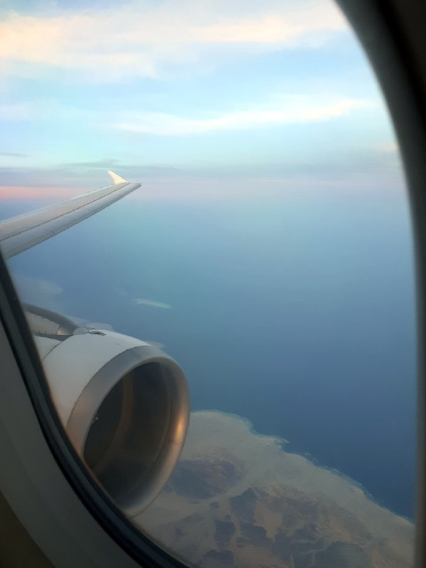 sunset view saudia red sea