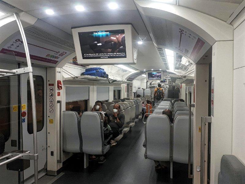 klia express train