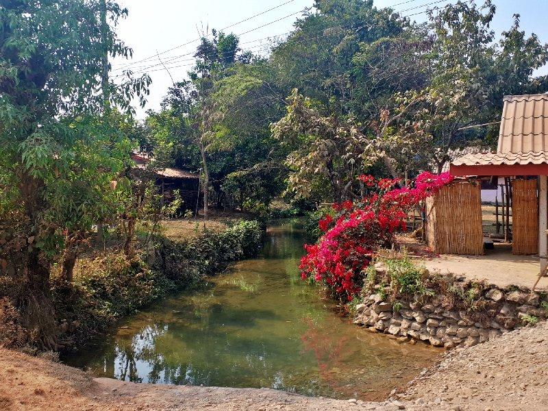 laos countryside village