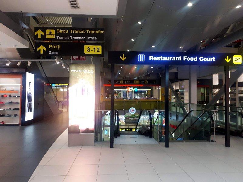 escalators bucharest airport otopeni otp