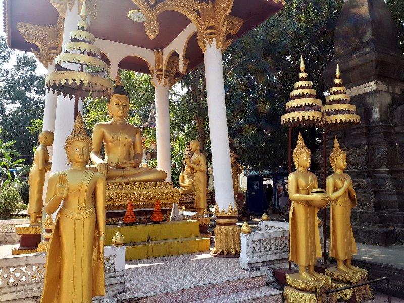 sisaket temple vientiane trip report