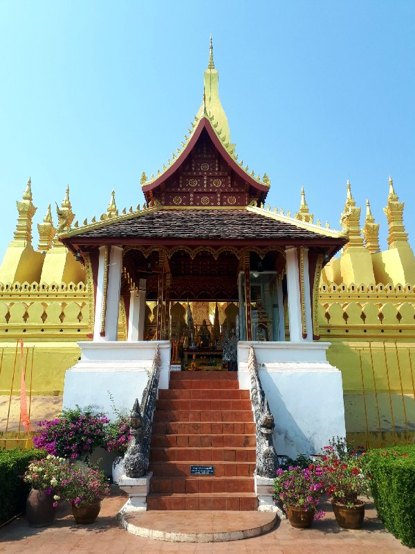 pha that luang vientiane trip report
