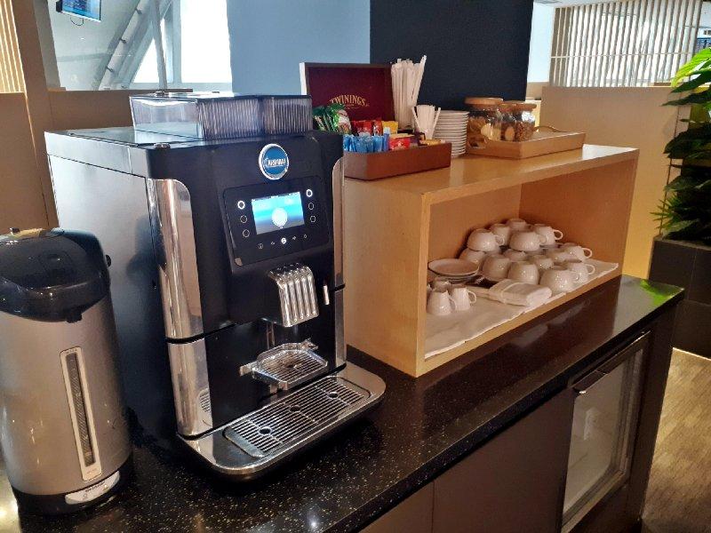 air france klm lounge bangkok coffee
