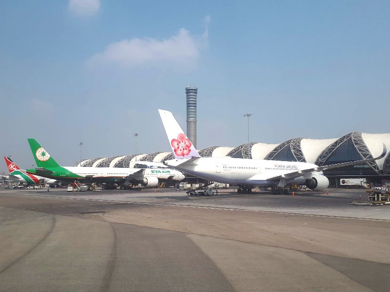 kenya airways eva air china airlines bangkok