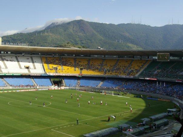 maracana rio de janeiro brazil football match south america