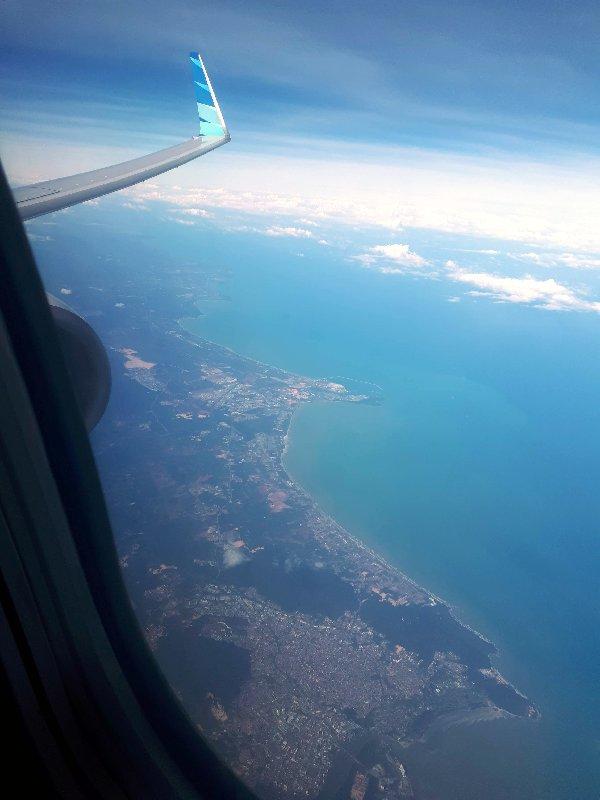 indonesia garuda window view flight review