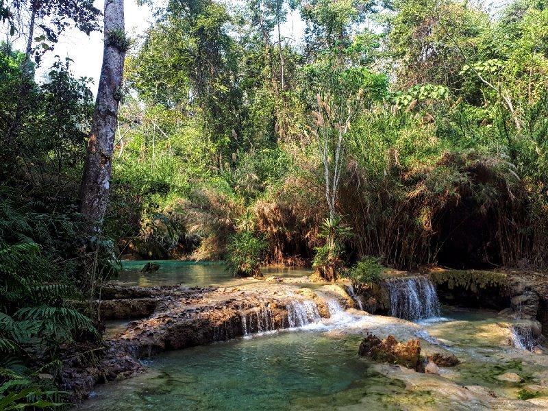 waterfall jungle