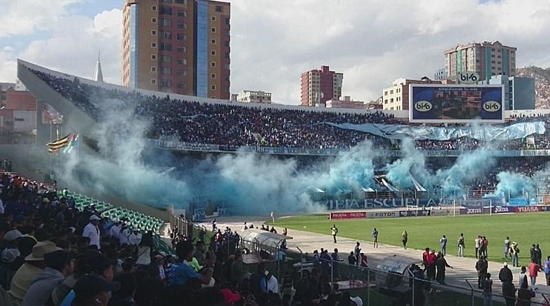 la paz football south america hernan siles derby clasico bolivia paceno