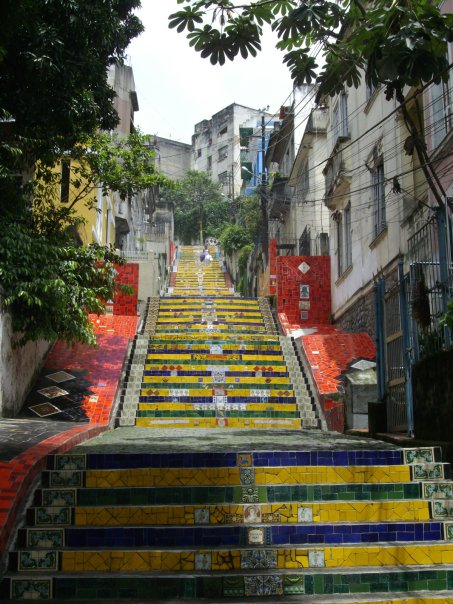 rio de janeiro selaron escadaria steps