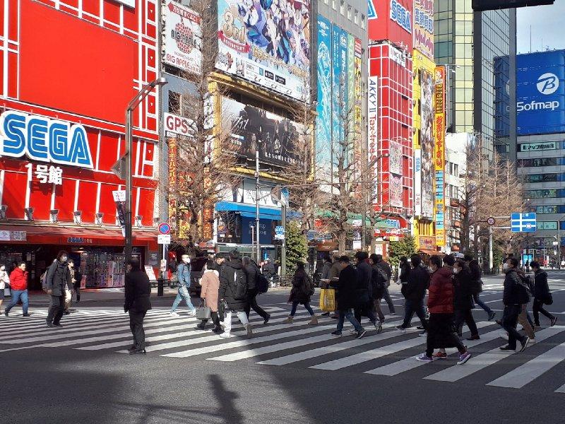 akihabara crossing tokyo