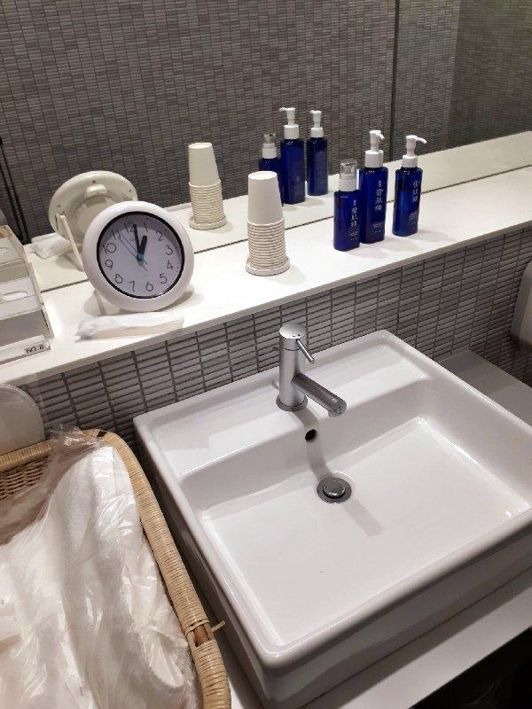ana lounge shower room