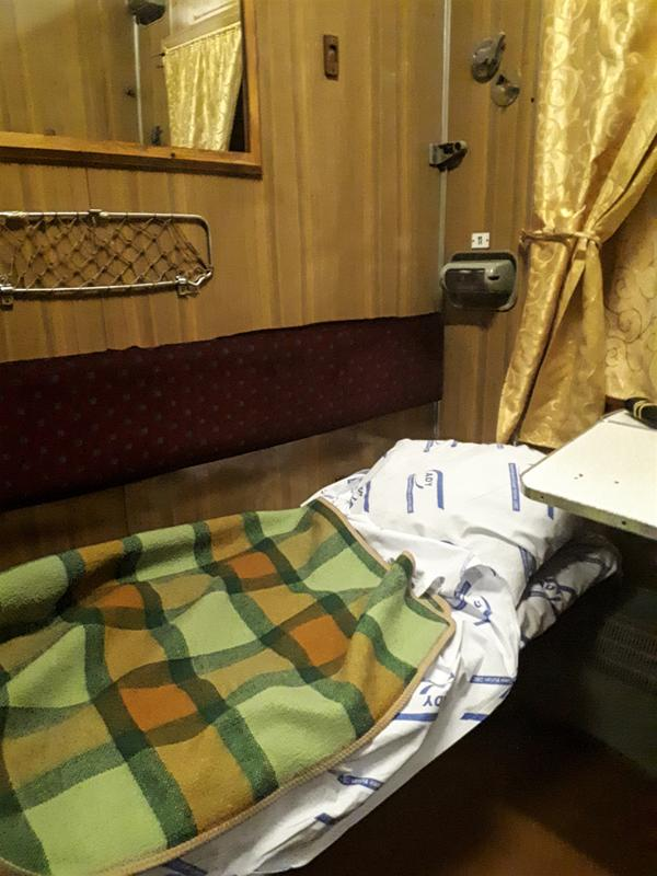 azerbaijan train bed berth