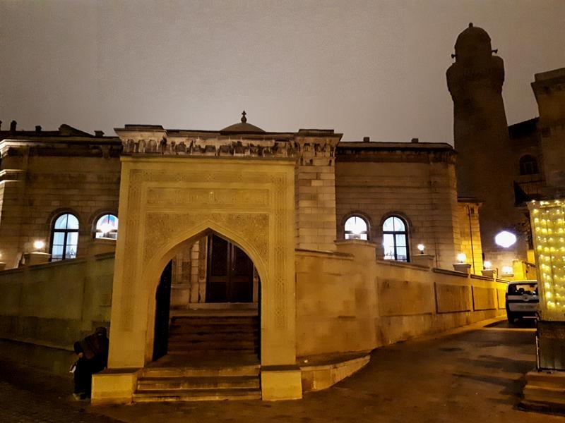 mosque old town baku