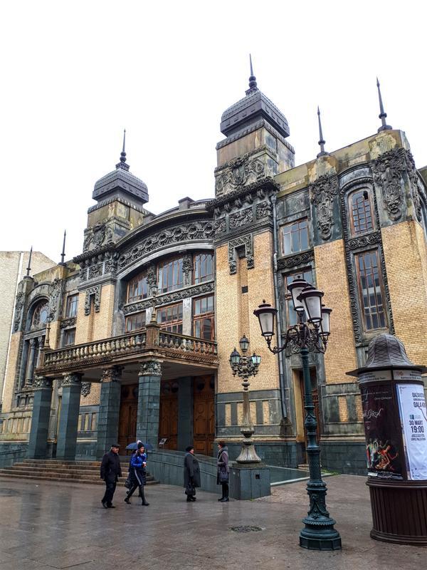 baku opera ballet theatre trip report