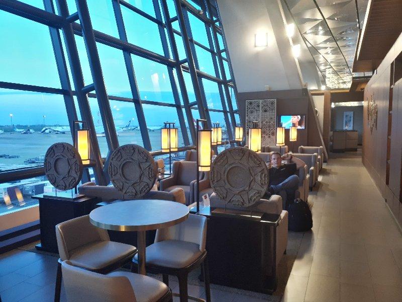 jakarta plaza premium lounge review