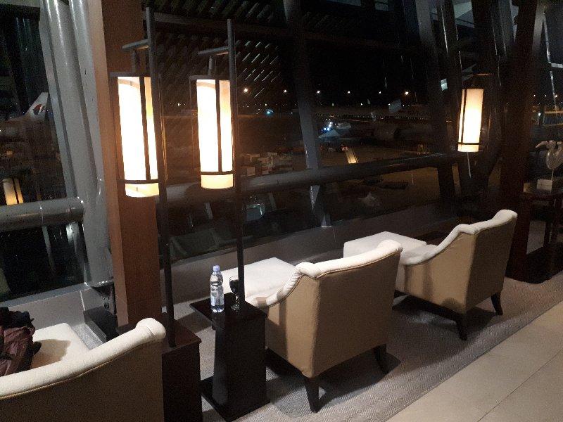 sapphire plaza premium lounge review terminal 3 jakarta airport