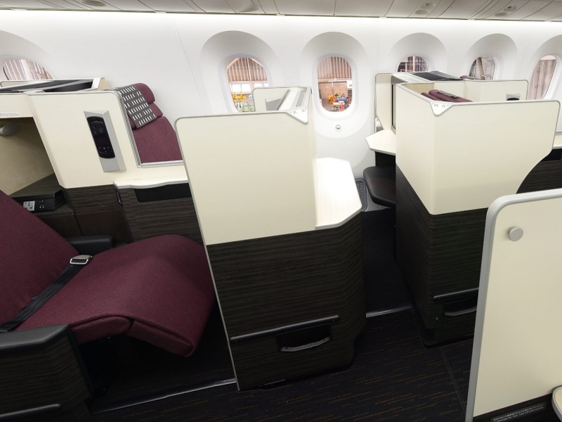 japan airlines jal sky suite apex business class review boeing 787