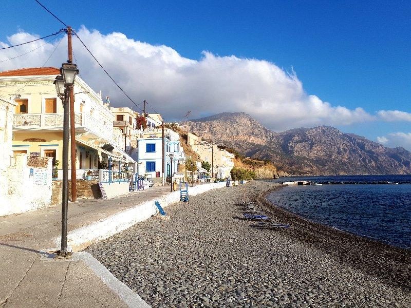 greece tourists karpathos
