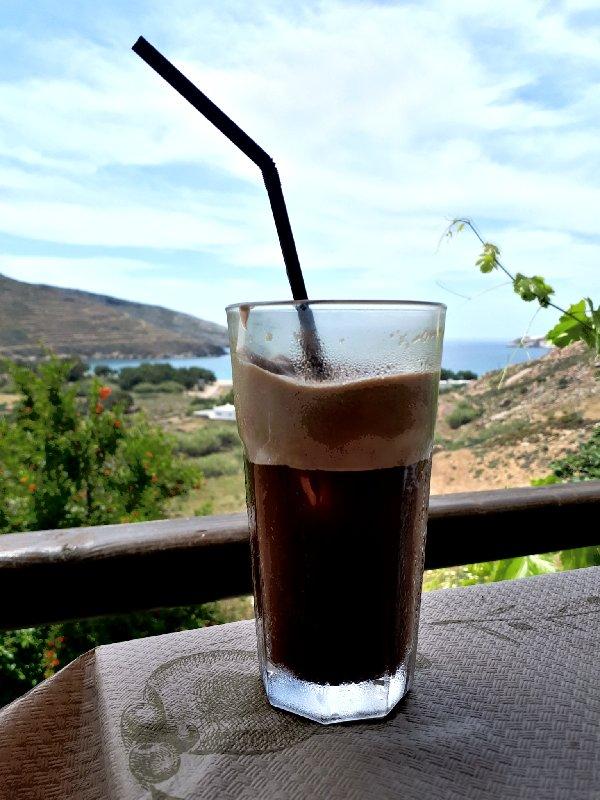 frappé coffee koutala bay