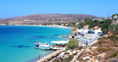 paros greece beach