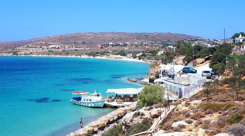 paros greece beach