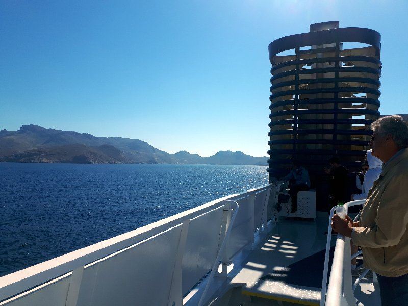 serifos island arrival