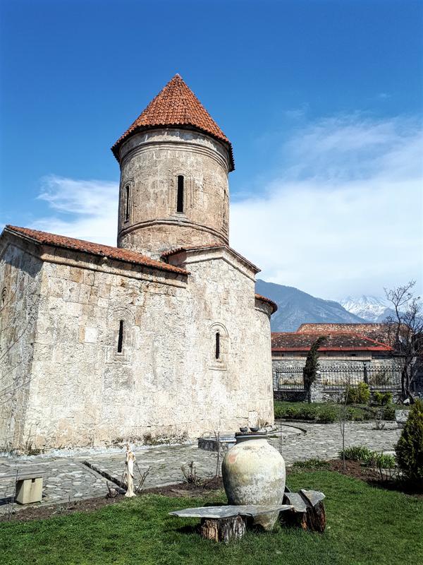 sheki kiş albanian church