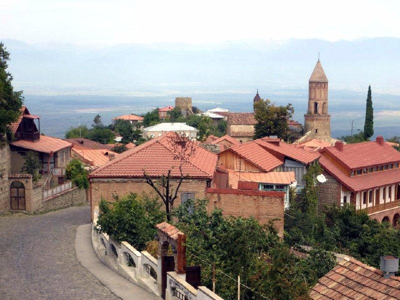 sighnaghi wine georgia
