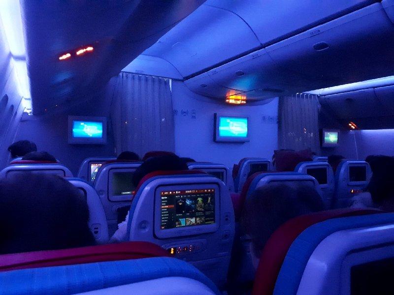turkish boeing 777 cabin
