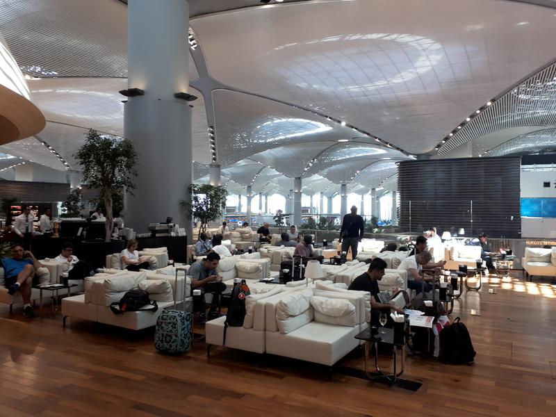 turkish airlines lounge balcony