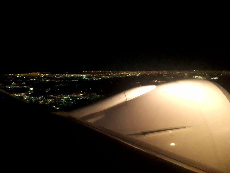 tokyo narita take-off departure