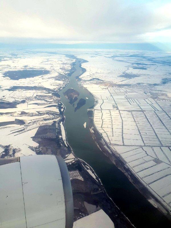 turkish airlines danube bulgaria romania border bucharest arrival descent economy istanbul