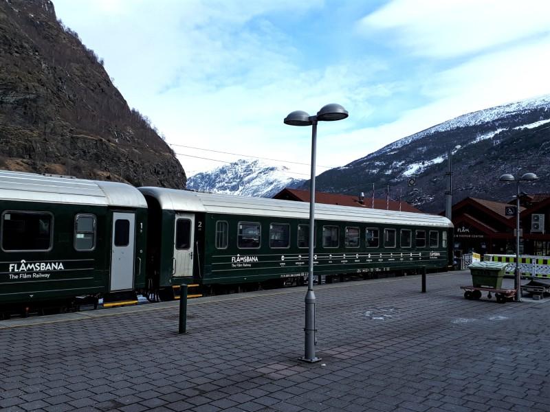 flam railway flamsbana train