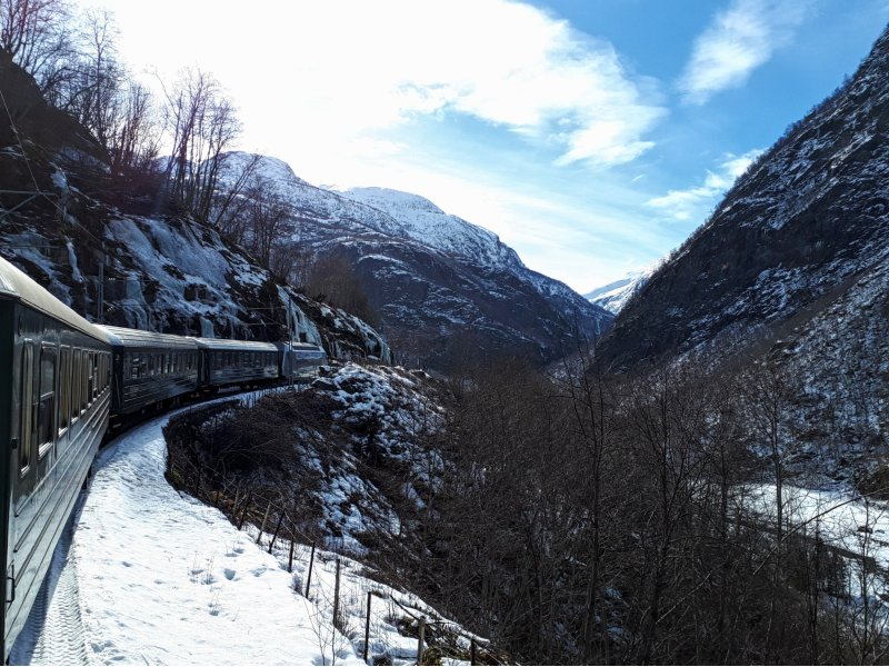flamsbana flam railway train