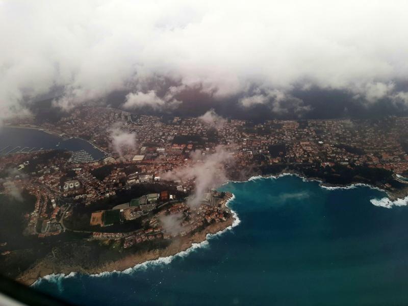dubrovnik landing view arrival