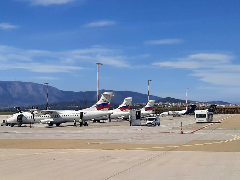 sky express athens airport