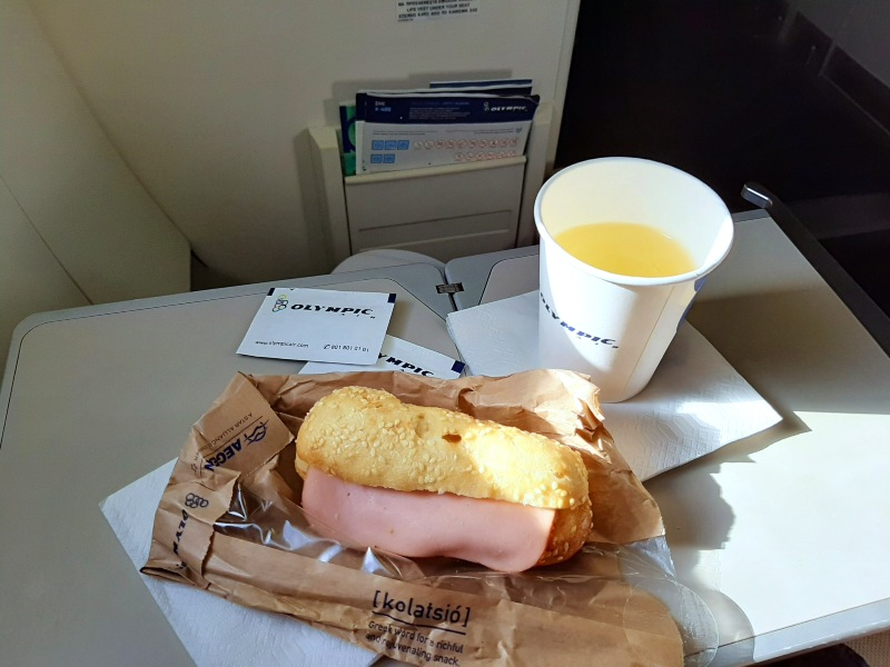 sandwich snack white wine olympic air review