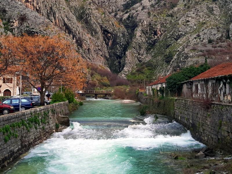 skurda river kotor