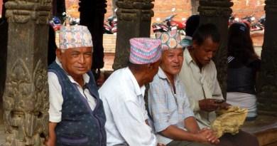 nepali men people kathmandu valley