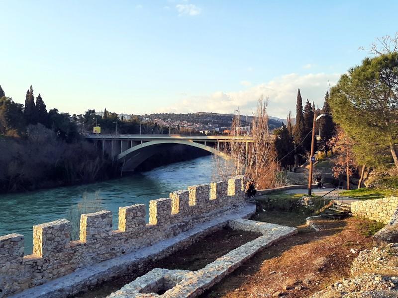 podgorica fortress river