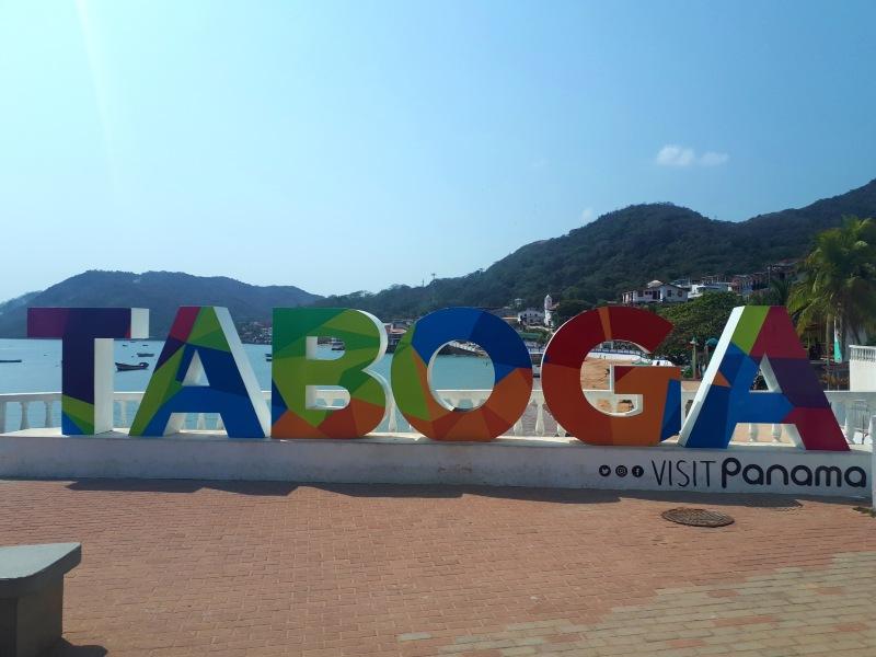 taboga island sign