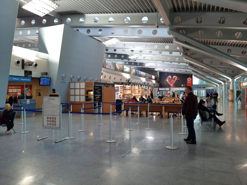 podgorica airport security