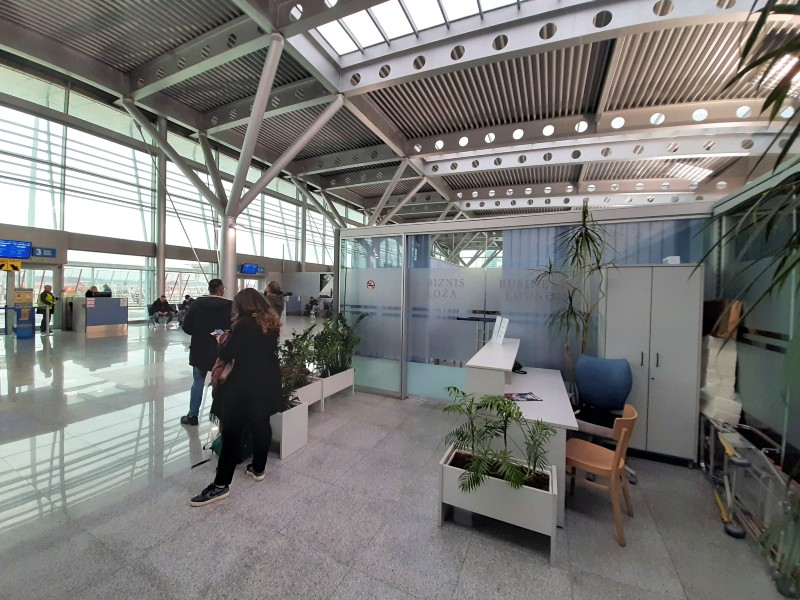 podgorica airport business lounge