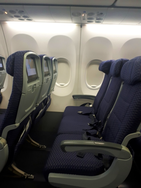 economy class seats boeing 737-800 copa airlines
