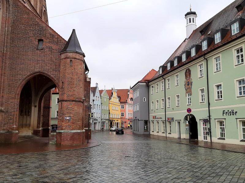 landshut old town bavaria