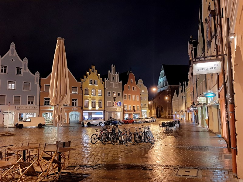 landshut old town