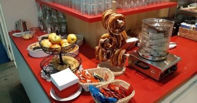 buffet air france klm munich