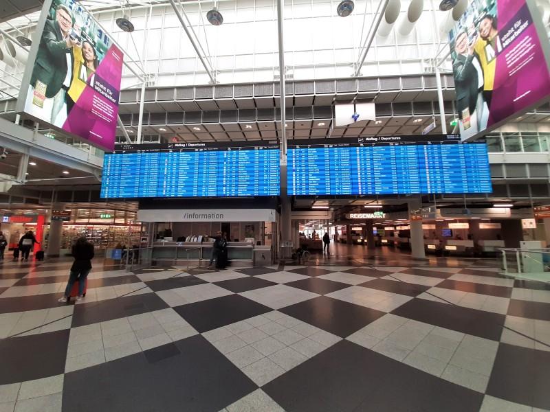 munich airport terminal 1 flight delay compensation