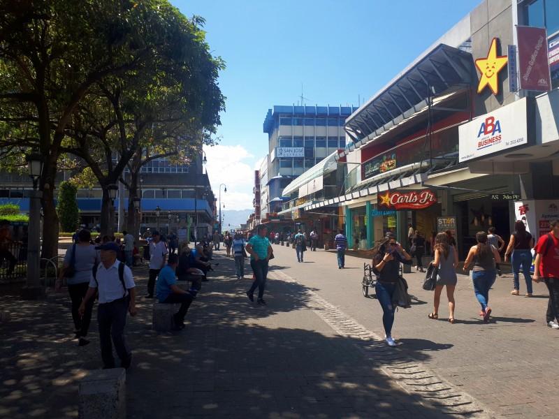 pedestrian area san jose