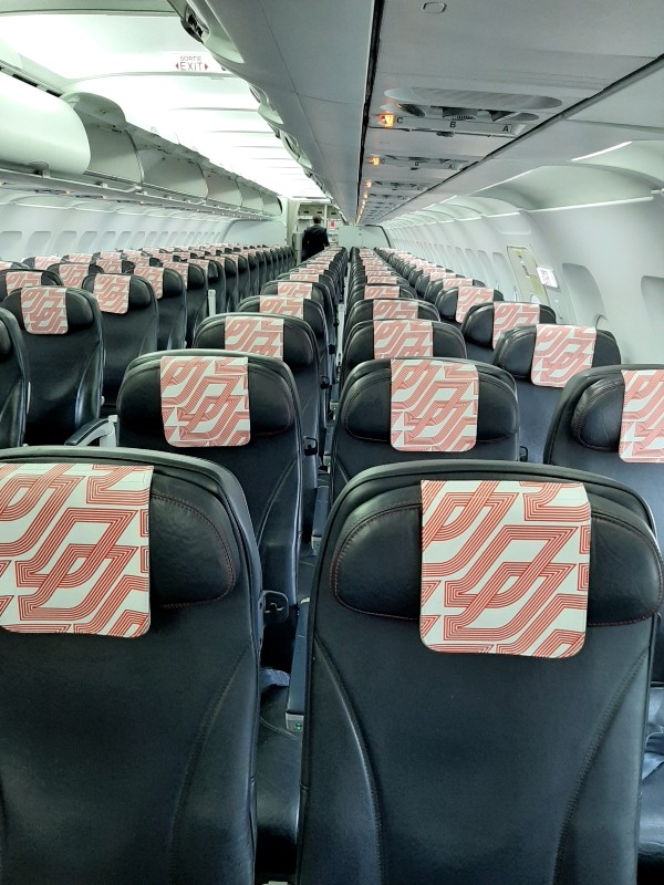 air france a319 cabin